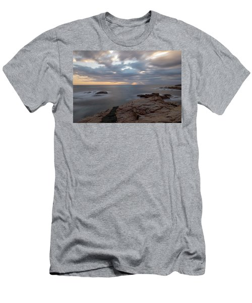 Sunrise On The Costa Brava Men's T-Shirt (Athletic Fit)
