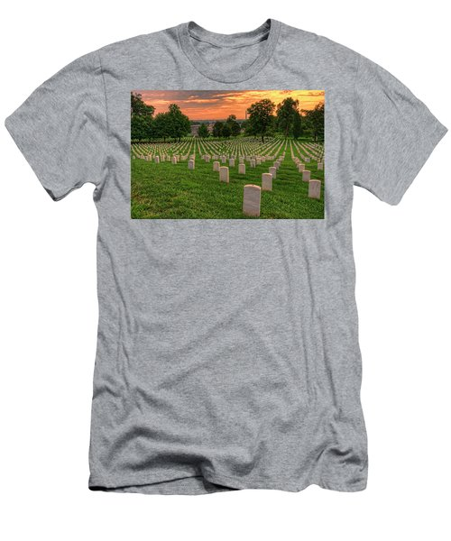 Arlington National Cemetery Sunrise Men's T-Shirt (Athletic Fit)