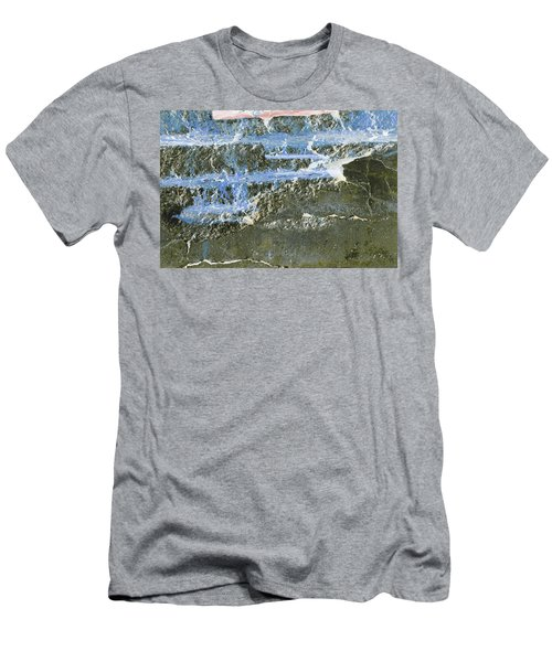 Men's T-Shirt (Athletic Fit) featuring the photograph Art Print Abstract 19 by Harry Gruenert