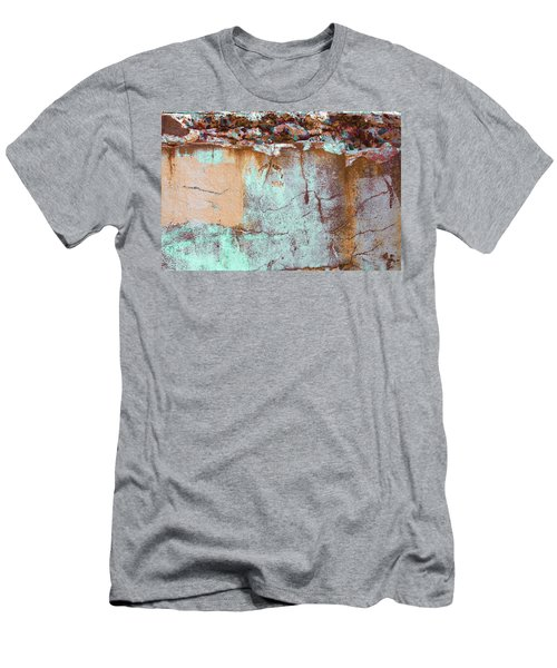 Men's T-Shirt (Athletic Fit) featuring the photograph Art Print Abstract 25 by Harry Gruenert