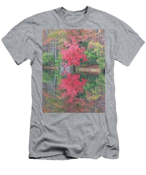 Autumn Pink Men's T-Shirt (Athletic Fit)