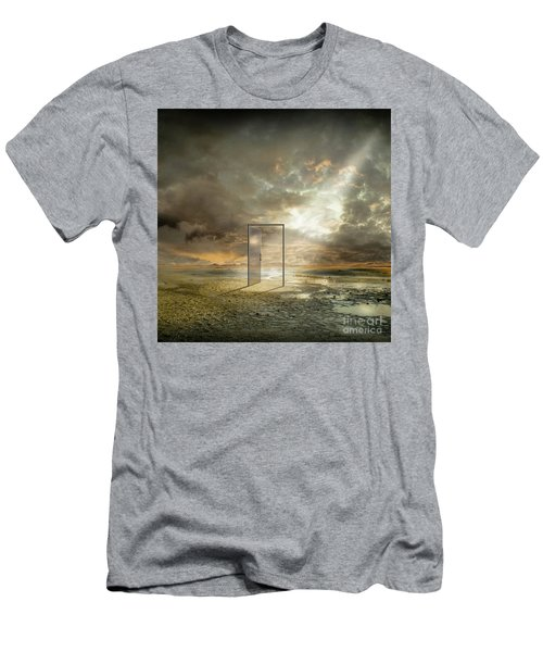 Behind The Reality Men's T-Shirt (Athletic Fit)