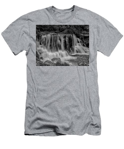 Blackwater Falls Mono 1309 Men's T-Shirt (Athletic Fit)