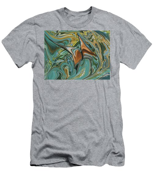 Bronze Butterfly Men's T-Shirt (Athletic Fit)