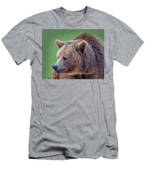 Brown Bear 5 Men's T-Shirt (Athletic Fit)