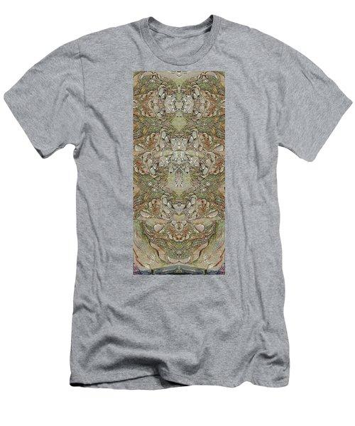 Desert Wall Men's T-Shirt (Athletic Fit)