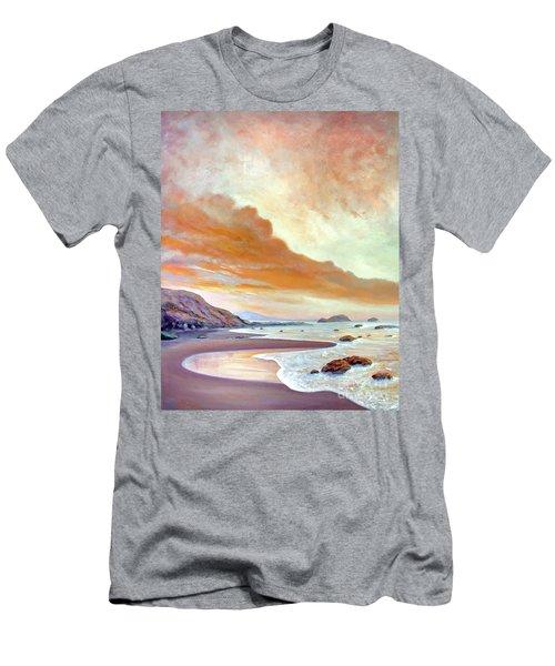 San Simeon Beach Men's T-Shirt (Athletic Fit)