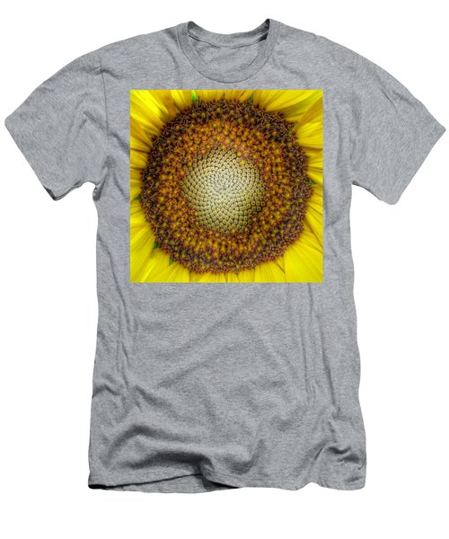 Ghost Sunflower Men's T-Shirt (Athletic Fit)
