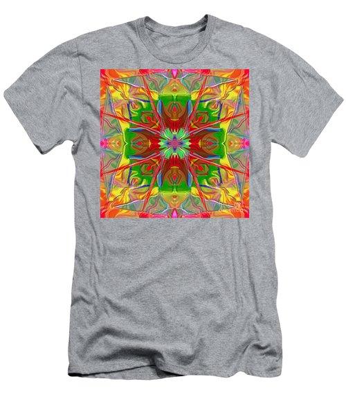Mandala 12 8 2018 Men's T-Shirt (Athletic Fit)