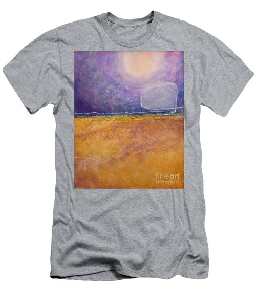 Men's T-Shirt (Athletic Fit) featuring the painting Old Home Fall by Kim Nelson