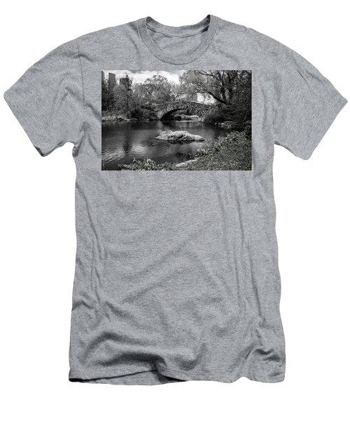 Men's T-Shirt (Athletic Fit) featuring the photograph Park Bridge by Stuart Manning