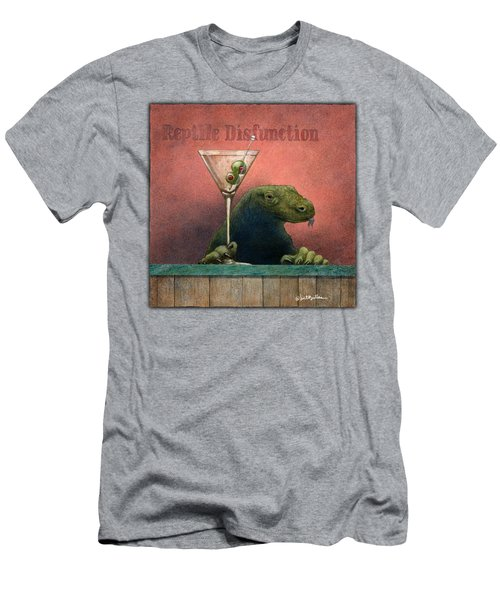 Reptile Disfunction... Men's T-Shirt (Athletic Fit)