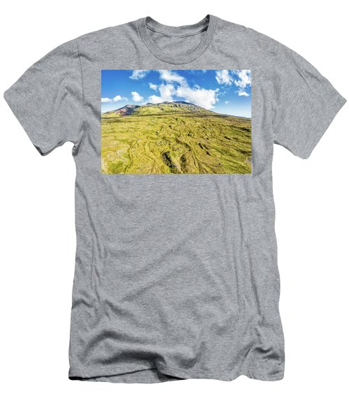 Snowcapped Volcano II Men's T-Shirt (Athletic Fit)