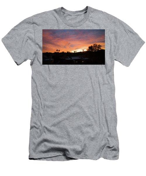 West Coast Vibe Men's T-Shirt (Athletic Fit)
