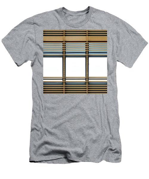 White Windows Men's T-Shirt (Athletic Fit)