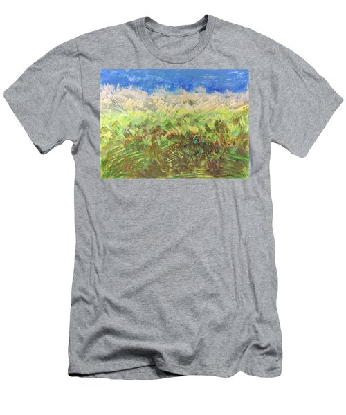Windy Fields Men's T-Shirt (Athletic Fit)