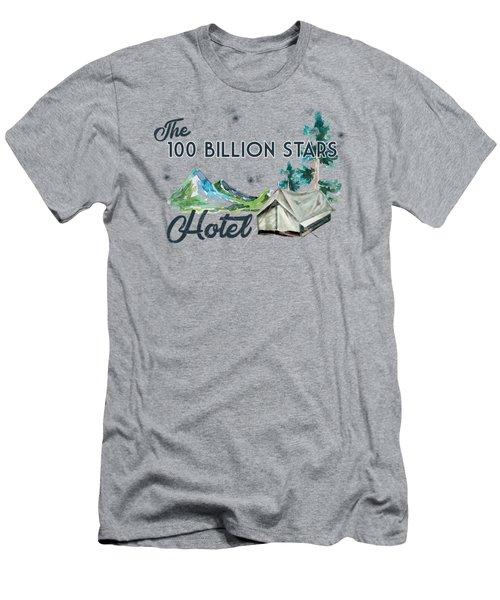 100 Billion Stars Hotel Men's T-Shirt (Athletic Fit)