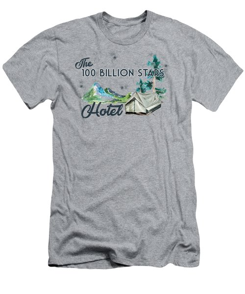 100 Billion Stars Hotel Men's T-Shirt (Athletic Fit)
