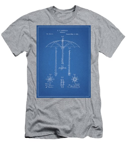1885 Umbrella Patent Men's T-Shirt (Athletic Fit)
