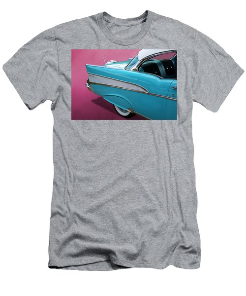 Turquoise 1957 Chevrolet Bel Air Men's T-Shirt (Athletic Fit)