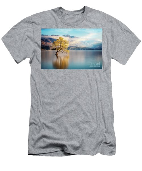 Alone And Determined Men's T-Shirt (Athletic Fit)