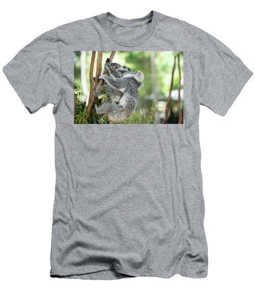 Men's T-Shirt (Athletic Fit) featuring the photograph Australian Koalas by Rob D Imagery