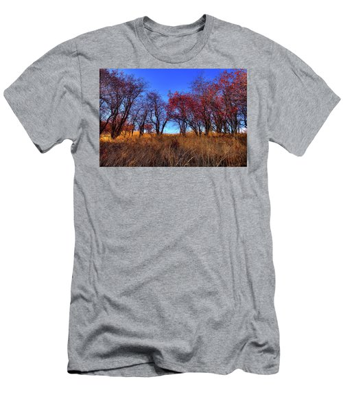 Men's T-Shirt (Athletic Fit) featuring the photograph Autumn Light by David Patterson