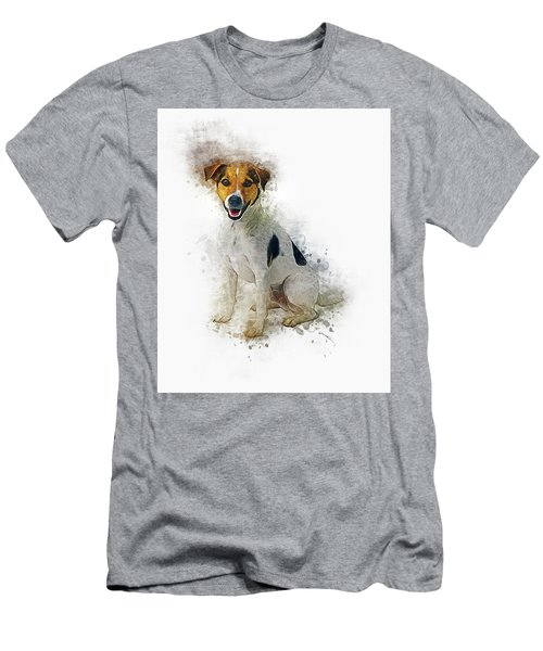 Jack Russell Men's T-Shirt (Athletic Fit)