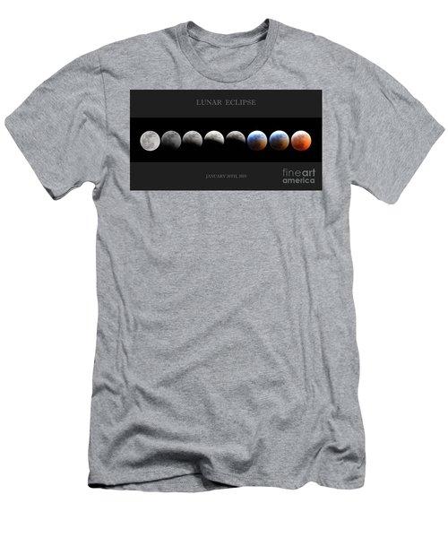 Super Blood Wolf Moon Men's T-Shirt (Athletic Fit)