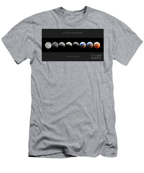 Super Blood Wolf Moon Men's T-Shirt (Athletic Fit)