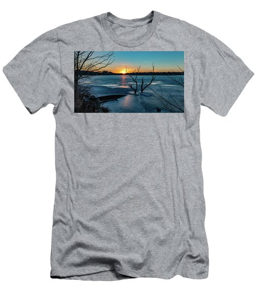 2019-012/365 January Sunset Men's T-Shirt (Athletic Fit)