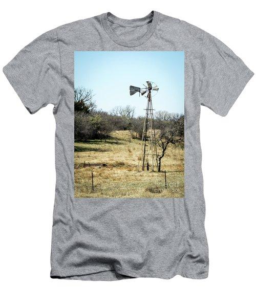 Windmill Men's T-Shirt (Athletic Fit)