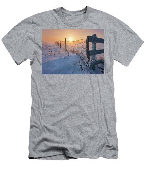 -30 Sunrise Men's T-Shirt (Athletic Fit)