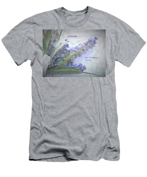A Gift Of Lavender Men's T-Shirt (Athletic Fit)