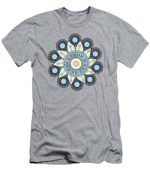 A Mandala Doily Men's T-Shirt (Athletic Fit)