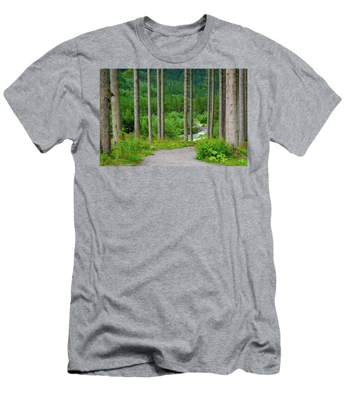 A Path To The River Men's T-Shirt (Athletic Fit)