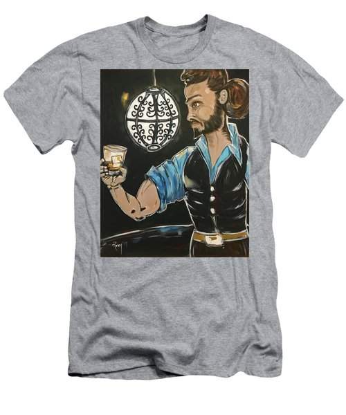 A Stiff One Featuring Rich Men's T-Shirt (Athletic Fit)