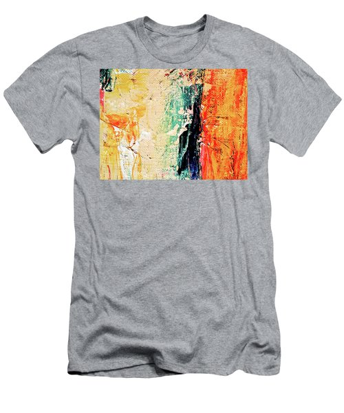 Men's T-Shirt (Athletic Fit) featuring the painting Ab19 by Arttantra