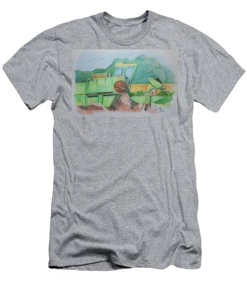 Abandoned Combine Men's T-Shirt (Athletic Fit)