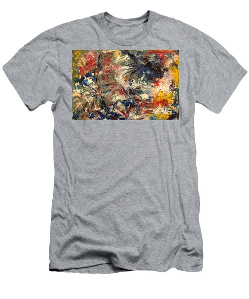Abstract Puzzle Men's T-Shirt (Athletic Fit)