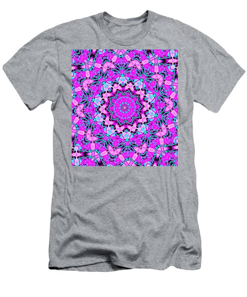 Abstract Spun Flower Men's T-Shirt (Athletic Fit)