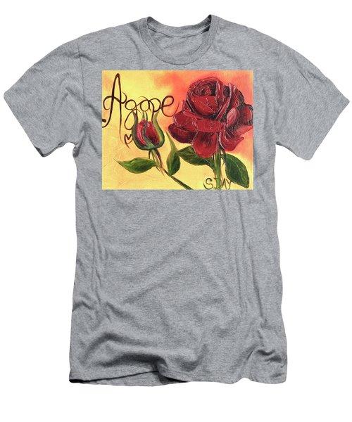 Agape Love Men's T-Shirt (Athletic Fit)
