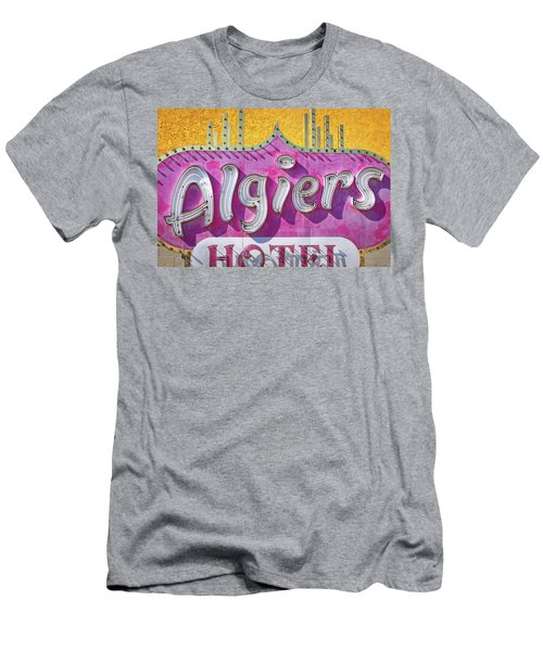 Men's T-Shirt (Athletic Fit) featuring the photograph Algiers by Skip Hunt