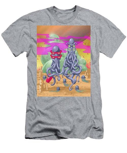 Alien Gothic Men's T-Shirt (Athletic Fit)