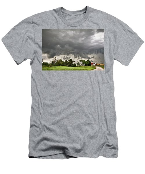 Alive Sky In Wyoming 2 Men's T-Shirt (Athletic Fit)