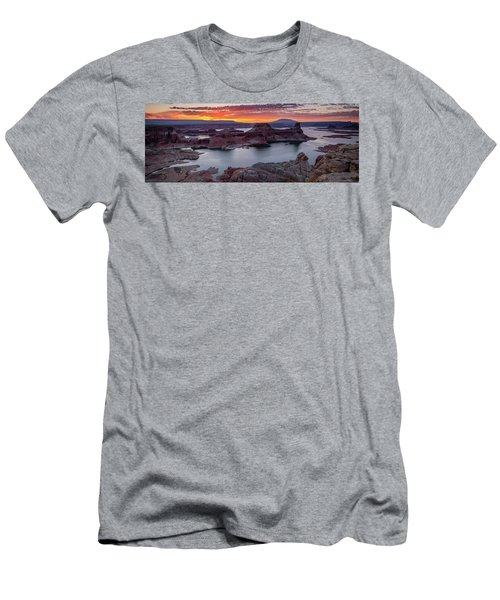 Men's T-Shirt (Athletic Fit) featuring the photograph Alstrom Point by Edgars Erglis