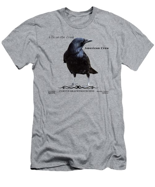 American Crow Men's T-Shirt (Athletic Fit)