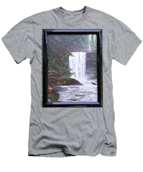 Ammonite Falls Men's T-Shirt (Athletic Fit)