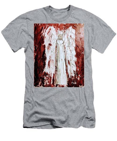 Angel Against Violence Men's T-Shirt (Athletic Fit)
