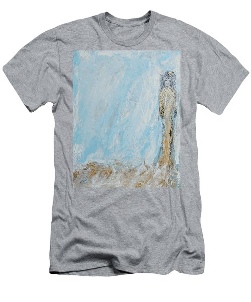 Angel For The New Year Men's T-Shirt (Athletic Fit)